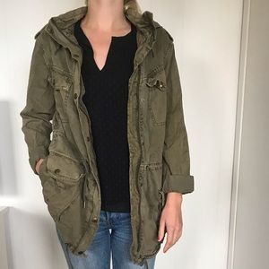Talula Army Green Trooper Jacket